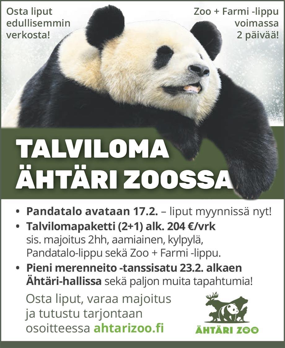 Talviloma Ähtäri Zoossa